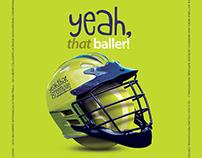 VisitGreenvilleSC Sports Marketing Print Campaign
