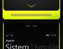 Vestel Smartphone Design