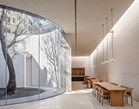 Waterfrom Design/ Tea Community Center in Xiamen