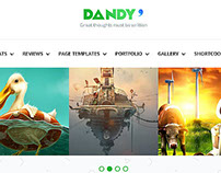 DANDY - Creative WordPress Theme