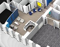 Interior Design: Juvenile Diabetes Head Office Floor