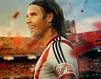 River Plate player Fernando Cavenaghi poster