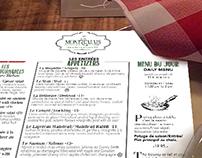 Menu du Restaurant Le Montréalais