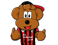 Cherry Bear for AFC Bournemouth