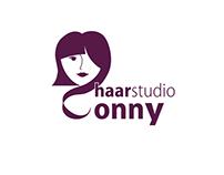 Logo Redesign Haarstudio Conny