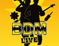 BDM Live logo & design