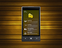 Windows Phone application concept design