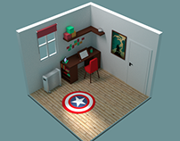 Simple Isometric Room