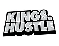 Kings Hustle Main Logo Design