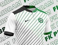FK Pribram Football kit.