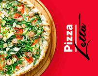 Pizza Letta - Branding, Logo, Web Design
