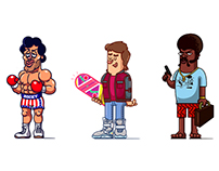 90s characters