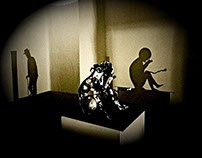 Ambient Music Meets Shadow Art