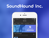 SoundHound: In-App Content