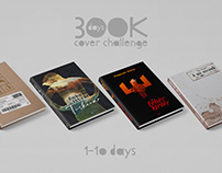 30 days book cover challenge – first ten days