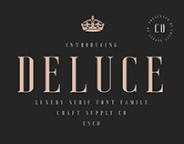 Deluce - Luxury Serif Font (Free Download)