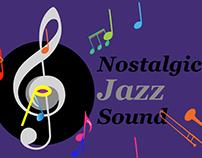 Nostalgic Jazz Sound Motion Graphic Logos