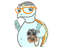 Hipster Turtle