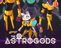 the Astrogods: Character Design Project