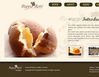 PappaRoti web design