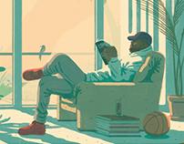 Illustrations for Complex Magazine