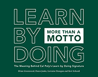 Cal Poly Learn by Doing Motto Book