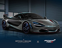 MCLAREN 720S ARMATO - OFFICINA ARMARE DESIGN STUDIO
