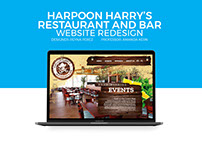 Harpoon Harry's Website Redesign