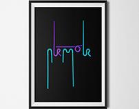 Straw typography