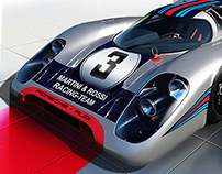 Porsche 917 Martini Painting