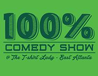 100% Comedy Show - Logo