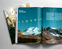 GÓRY magazine redesign