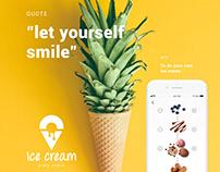 app HOME MADE ICE CREAM, pimp yours
