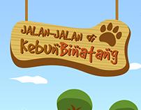 Children Education App : Walking in the Zoo