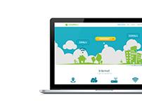 Web site concept LevnyNet