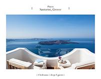 Design brochures for Housination (internet use)