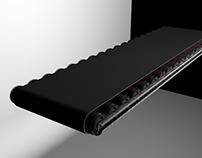 Conveyor Belt 3d Animated Model