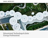 Daniel McKelvey - Ed Tech & Solar Energy Technology