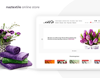 NazTextile - online store of textile products