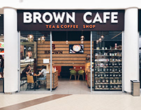 BROWN CAFE TEA & COFFEE SHOP