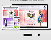 Website Design 57th IIGF