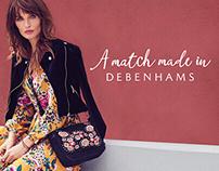 Debenhams AW17 brand campaign.