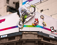 Cartoon Network: Street art