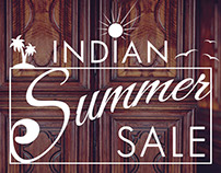 Creative for Indian Summer Sale with Ethnic Fashion