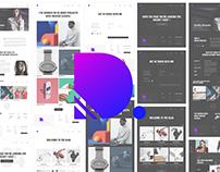 Draxler - Creative Portfolio Template