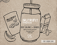 NutriFit Launch - Social media event