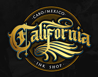 Logo - California Ink Shop