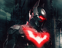 Batman Beyond Fan Poster