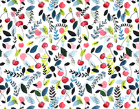 Pattern - Frutas España