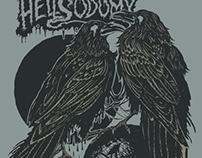 Hellsodomy gig poster